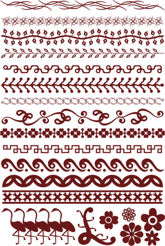 free vector Spider web lace with the pattern vector material